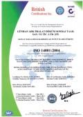 GÜNHAN ARK ISO 14001:2004
